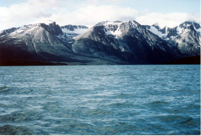 Tagish Lake - Florence Range near Ben-My-Chree