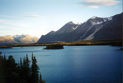 Atlin Lake - Scotia Island